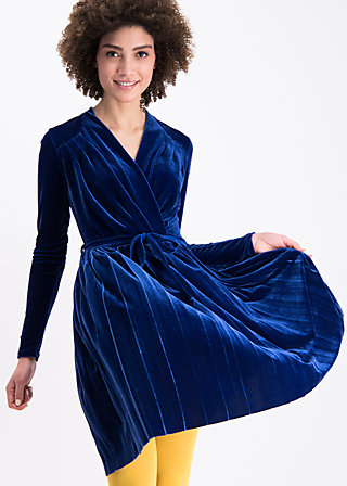 velvet heart robe, blue velvet, Kleider, Blau