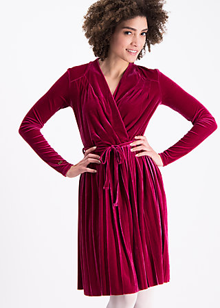 velvet heart robe, red velvet, Dresses, Rot