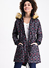winter wonder woods parka, lady love, Jackets & Coats, Black