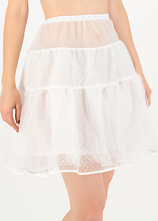 dreamyourdream petticoat, white, Accessoires, Weiß