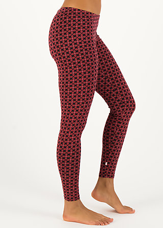Leggings a step in the dark, anni autumn, Leggings, Red
