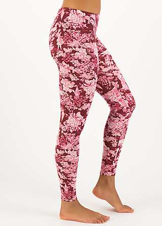 a walk in the park legs, toile de romantic, Leggings, Red