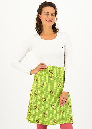 ahoi plate skirt, deer love, Röcke, Grün