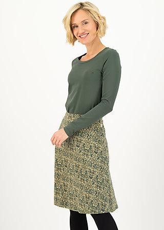 ahoi plate skirt, pattern poetry, Skirts, Green