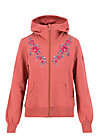 Zip Top aura paramour, dusty rosewood, Cardigans & lightweight Jackets, Pink