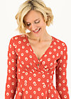 Wrap Dress autumn saloon, mister mush, Dresses, Red