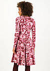 Wrap Dress autumn saloon, toile de romantic, Dresses, Red