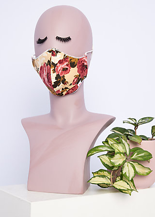 community mask, boho baroque, Accessoires, Beige