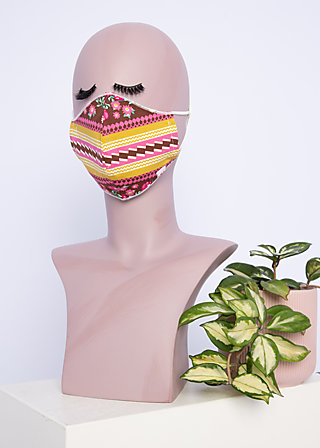 community mask, garden glory, Accessoires, Brown