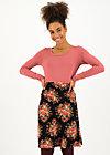 daily poetry skirt, graceful harvest, Röcke, Schwarz