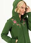 Sweatjacke aura paramour, garden green, Cardigans & leichte Jacken, Grün