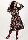 heart full of joy dress, fall finch, Kleider, Schwarz