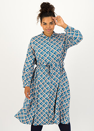 Shirt Dress heart full of joy, mama marmelade, Dresses, Blue