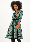 Shirt Dress hello mary rose, falling leaves, Dresses, Green