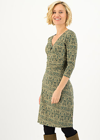 Jerseykleid hunters darling, pattern poetry, Kleider, Grün