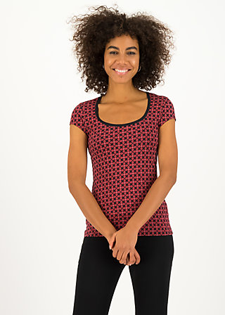 late summer belle shirt, anni autumn, Shirts, Red