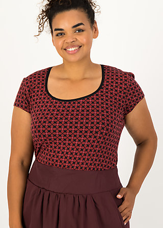 Jersey T-Shirt late summer belle, anni autumn, Shirts, Rot