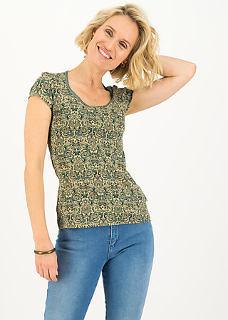late summer belle shirt, pattern poetry, Shirts, Grün
