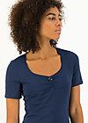 logo balconette tee, just me in blue, Shirts, Blau