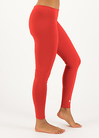 logo leggings, just me in red, Leggings, Rot