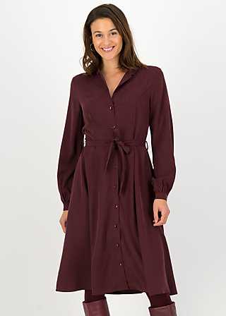 logo woven dress, winter wine, Kleider, Rot