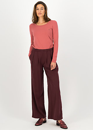 logo woven trousers, winter wine, Hosen, Rot