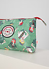 Makeup Bag long love, girl scout, Accessoires, Green