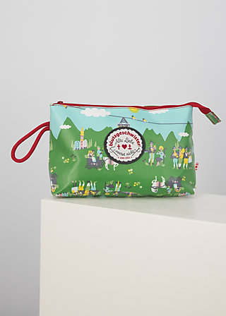 long love washbag, alpine lovers, Accessoires, Green