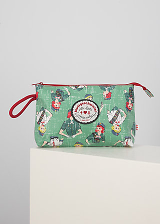 long love washbag, girl scout, Accessoires, Green