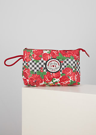 long love washbag, roses of black forest, Accessoires, Red