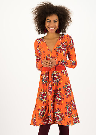 Wrap Dress ma chère robe enroulée, glory harvest, Dresses, Orange