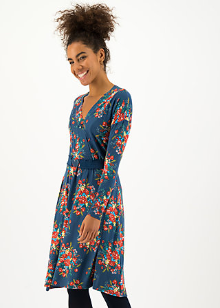 Wrap Dress ma chère robe enroulée, happy harvest, Dresses, Blue