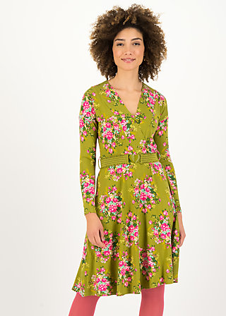 Wrap Dress ma chère robe enroulée, joyful harvest, Dresses, Green