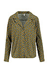 Viscose Top miss silky, nut of mud, Blouses & Tunics, Green