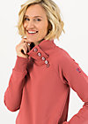 Sweater oh so nett, dusty rosewood, Cardigans & leichte Jacken, Rosa
