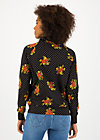 Sweater oh so nett, forest flower, Pullover & Sweatshirts, Schwarz