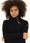 Sweater oh so nett, jet black, Cardigans & lightweight Jackets, Black