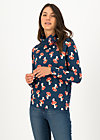 Sweater oh so nett, mushroom party, Pullover & Sweatshirts, Blau