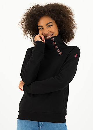 Sweater oh so nett, jet black, Cardigans & leichte Jacken, Schwarz