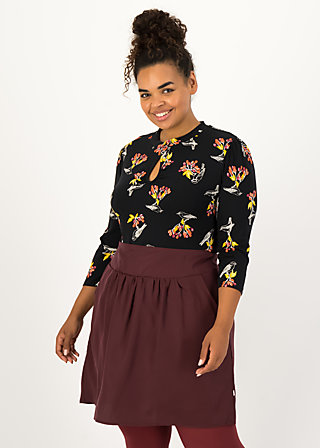 Jersey Shirt rosemarys rolli, berrie birds, Shirts, Schwarz