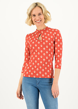 Jersey Top rosemarys rolli, mister mush, Shirts, Red