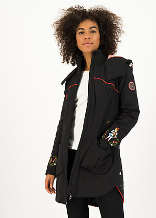 rotkäppchen parka, black forest, Jackets & Coats, Black