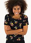 Jersey T-Shirt sail away, berrie birds, Shirts, Schwarz