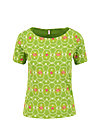 Jersey T-Shirt sail away, flowery willow, Shirts, Green