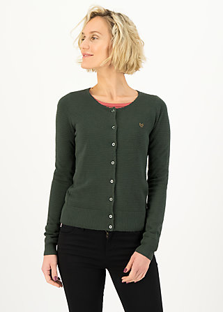 Cardigan save the brave, suited in thyme, Cardigans & lightweight Jackets, Green