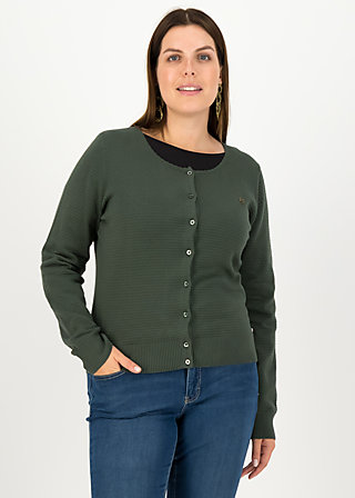 Cardigan save the brave, suited in thyme, Cardigans & leichte Jacken, Grün