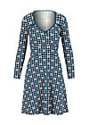 Jerseykleid diamond heart, picking apple, Kleider, Blau
