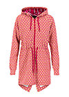 strong girl next door longzip, onion look, Jumpers & lightweight Jackets, Red