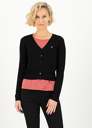 Cardigan pretty petite, black grape, Cardigans & lightweight Jackets, Black