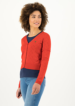 Cardigan pretty petite, red grape, Cardigans & lightweight Jackets, Red
